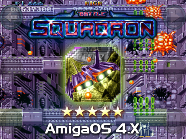 Battle Squadron on AmigaOS 4